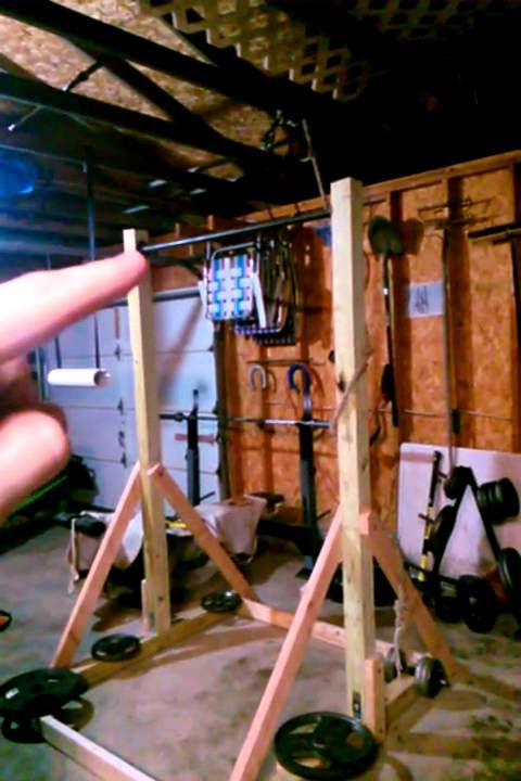 Diy Pull Up Station Freestanding Pull Up Bar Homemade Pull Up
