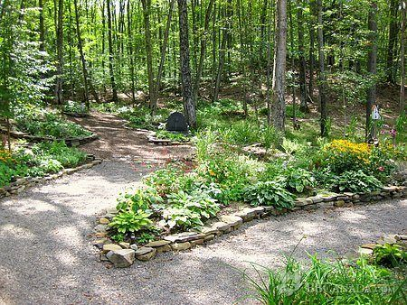 Photo of Garden Path – i like the stones as a path edge    If you want to make the path f…