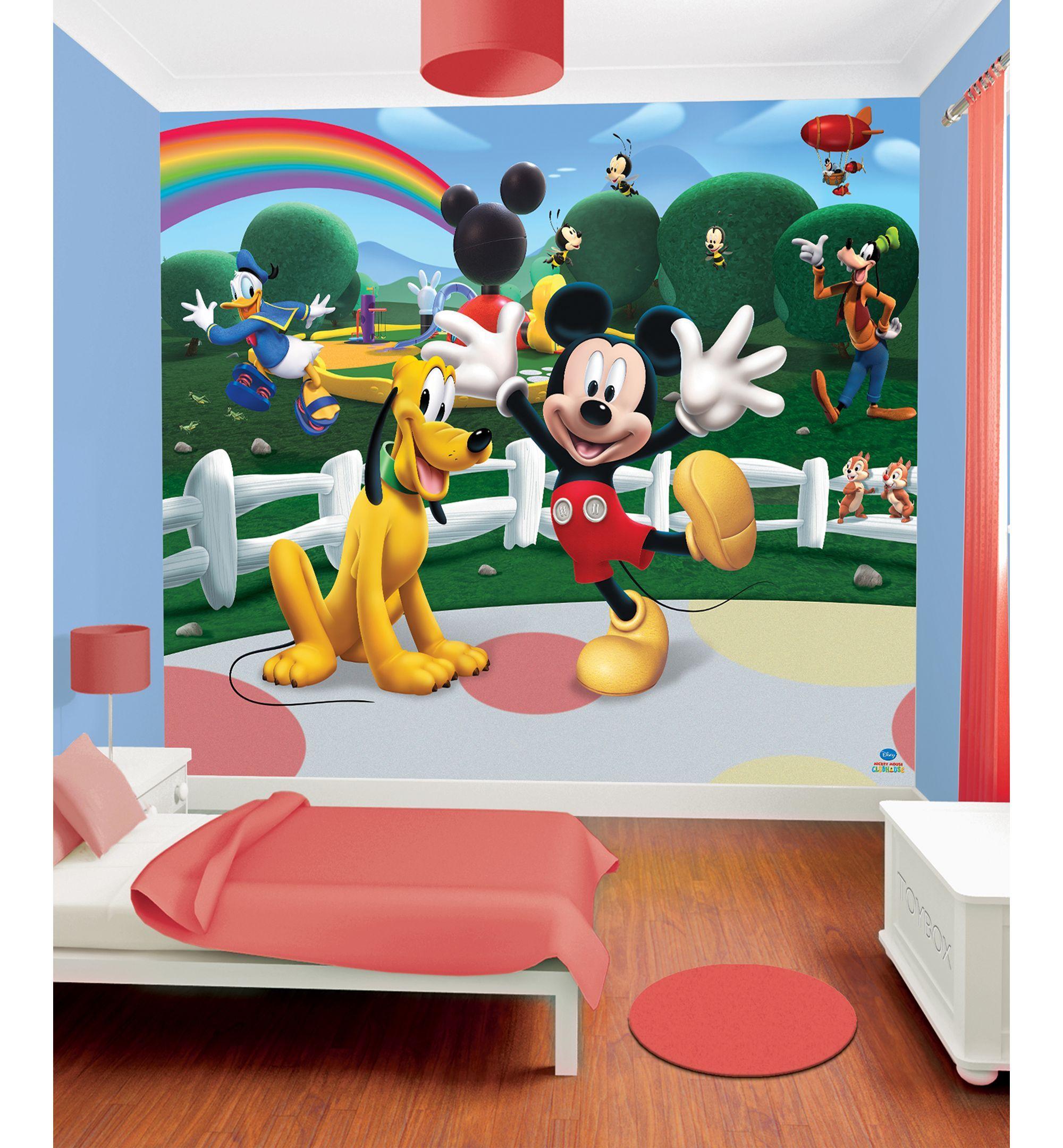 Nursery bedding bedroom ideas mickey mouse clubhouse - Mickey mouse clubhouse bedroom decor ...