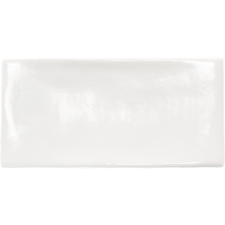 Carrelage Baker Street Blanc faïence mur blanc, bakerstreet l.7.5 x l.15 cm | sunglasses