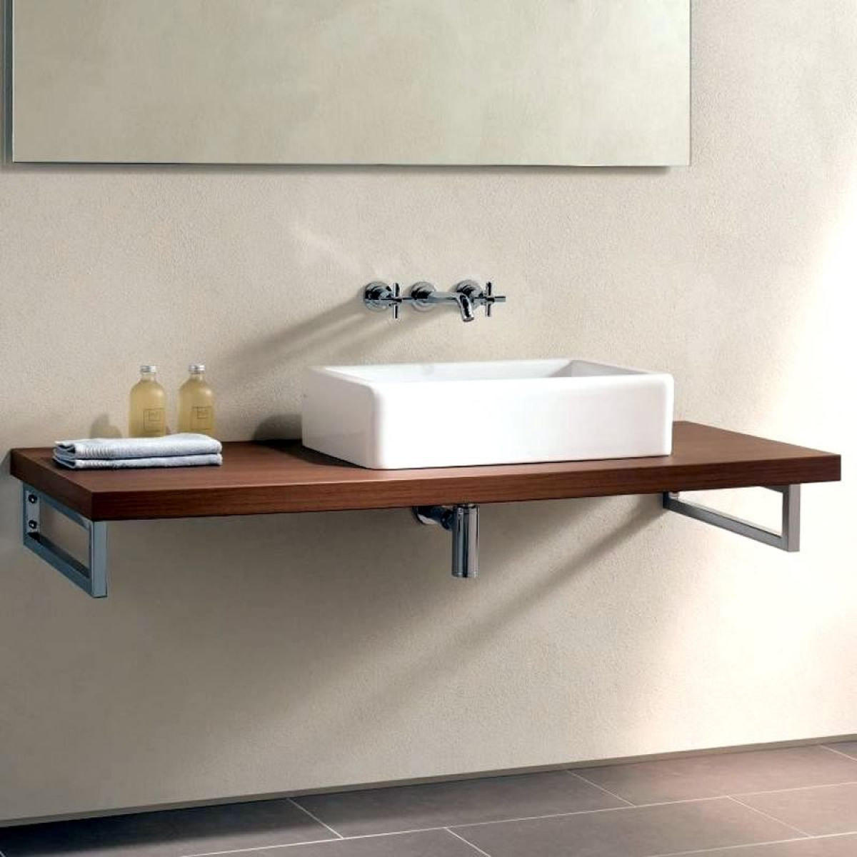 Vitra Options Washbasin Countertop - contemporary - bathroom vanities and  sink consoles - london - UK Bathrooms
