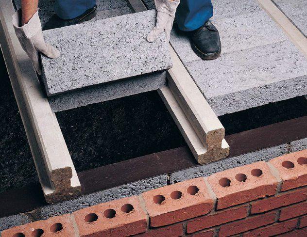 Beam Block Construction Details Precast Concrete Brick Design Concrete Houses