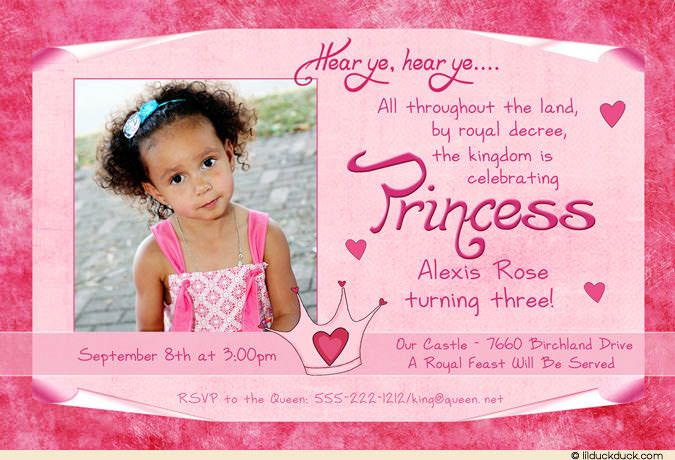 3rd Birthday Invite Wording