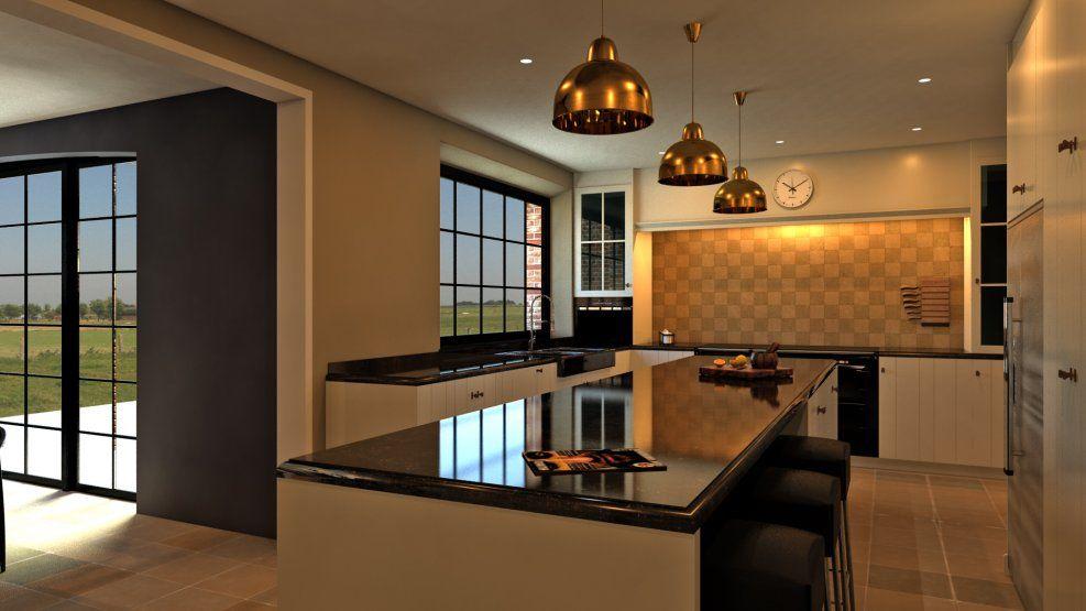 Landelijke Villa Inrichting : Inrichting landelijk strak google zoeken kitchens