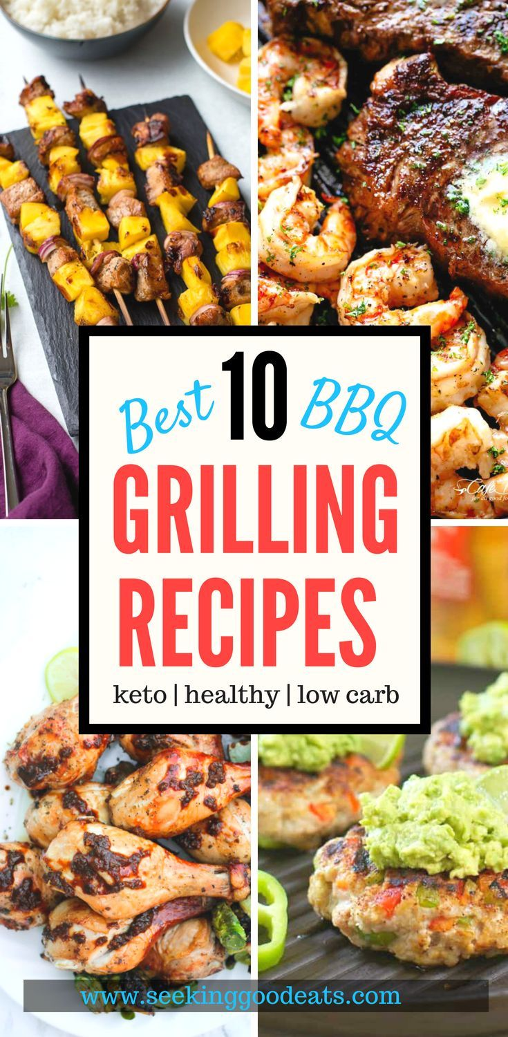 Quick and Easy Low Carb and Keto Grilling Recipes images