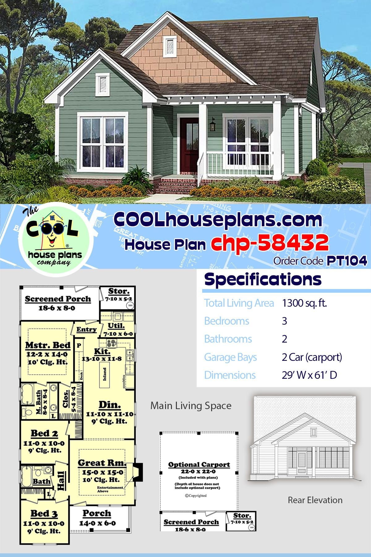 Traditional Style House Plan 56937 With 3 Bed 2 Bath 2 Car Garage Craftsman House Plans Craftsman House Fall Arts And Crafts