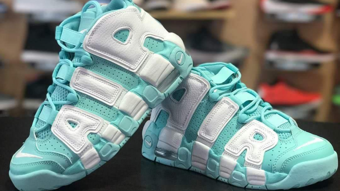 lowest price 708ce 1242e Nike-Air-More-Uptempo-Island-Green