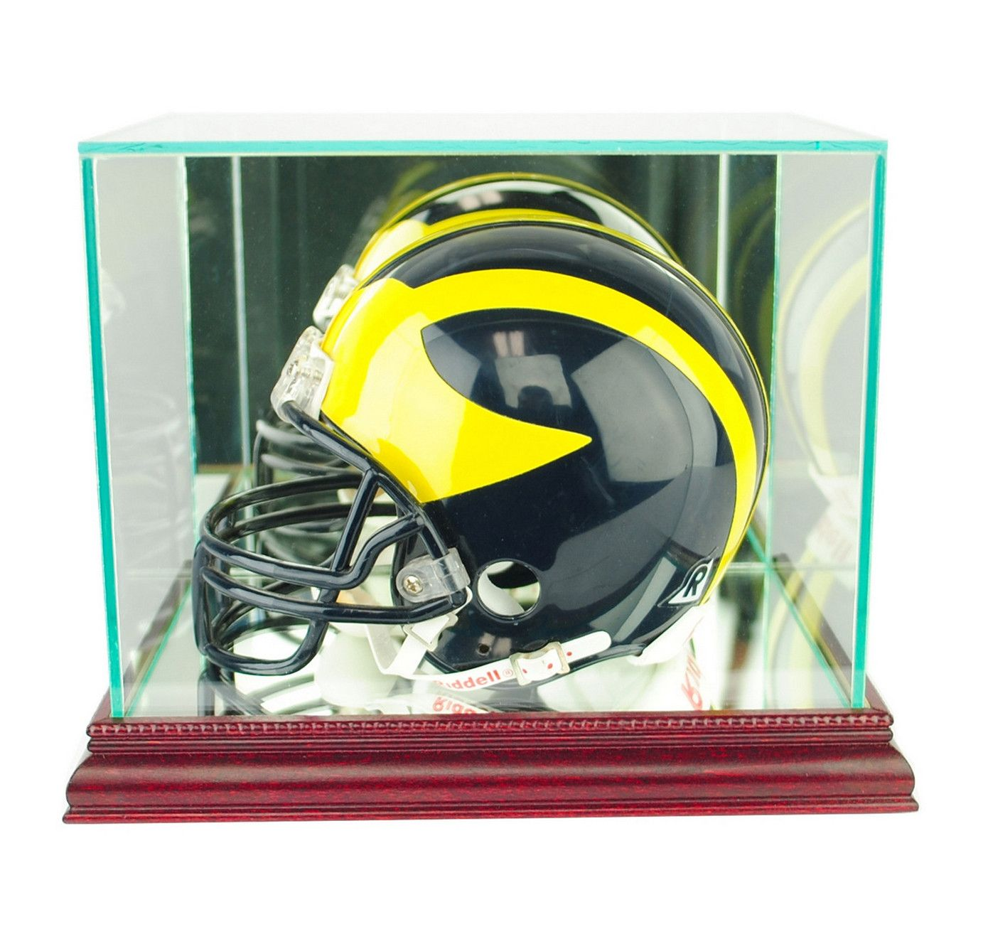 Proudly Display Your Autographed Mini Helmet In Our All Glass