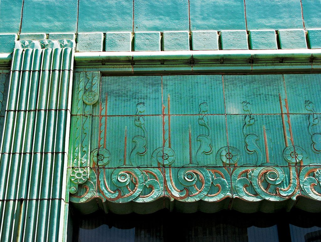 Oakland, CA, facade detail