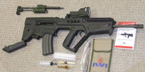 You're not bulletproof..., Tavor time… The much awaited Israeli bullpup will...