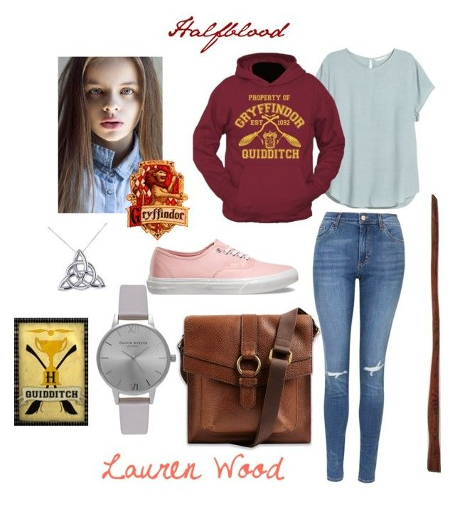 """""""Lauren Wood"""" by ofanotherworld ❤ liked on Polyvore featuring Topshop, H&M, Vans, Olivia Burton and Allurez"""
