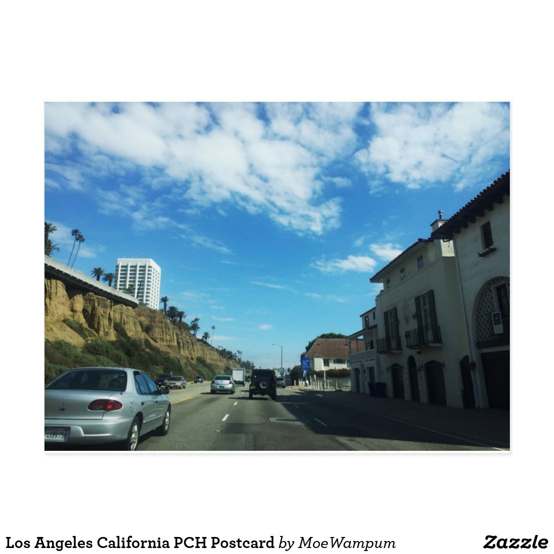 Los Angeles California PCH Postcard | Zazzle com | Cali From