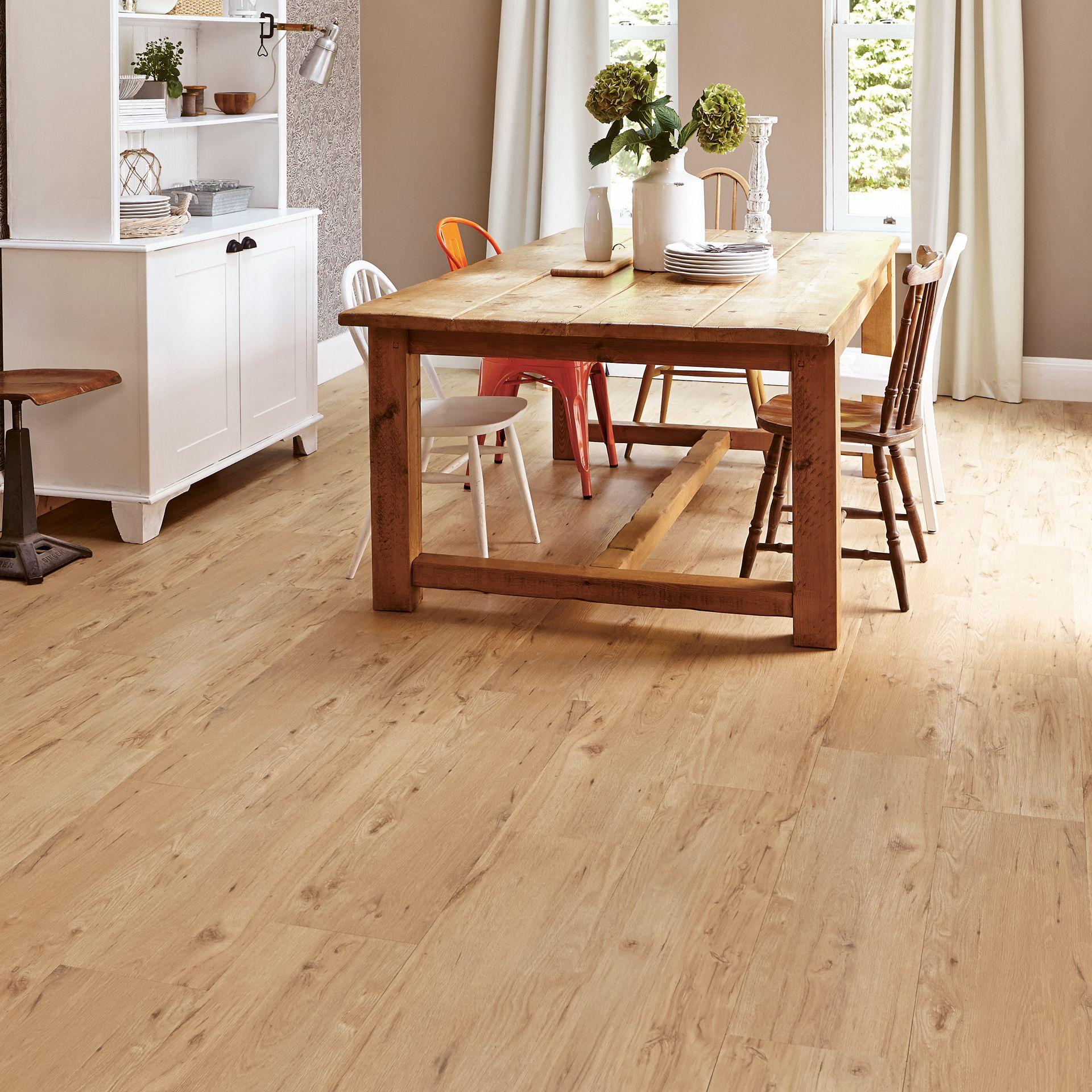 Karndean Flooring For Basement Floors Put Right Over Concrete