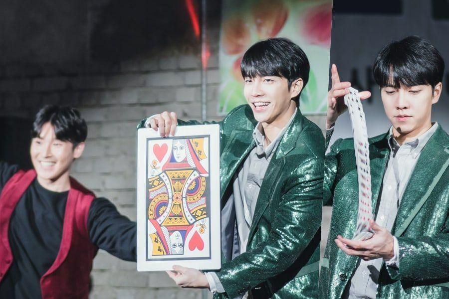 "Lee Seung Gi Puts On A Magic Show That Receives An Amusingly Tepid Response In ""Mouse"""