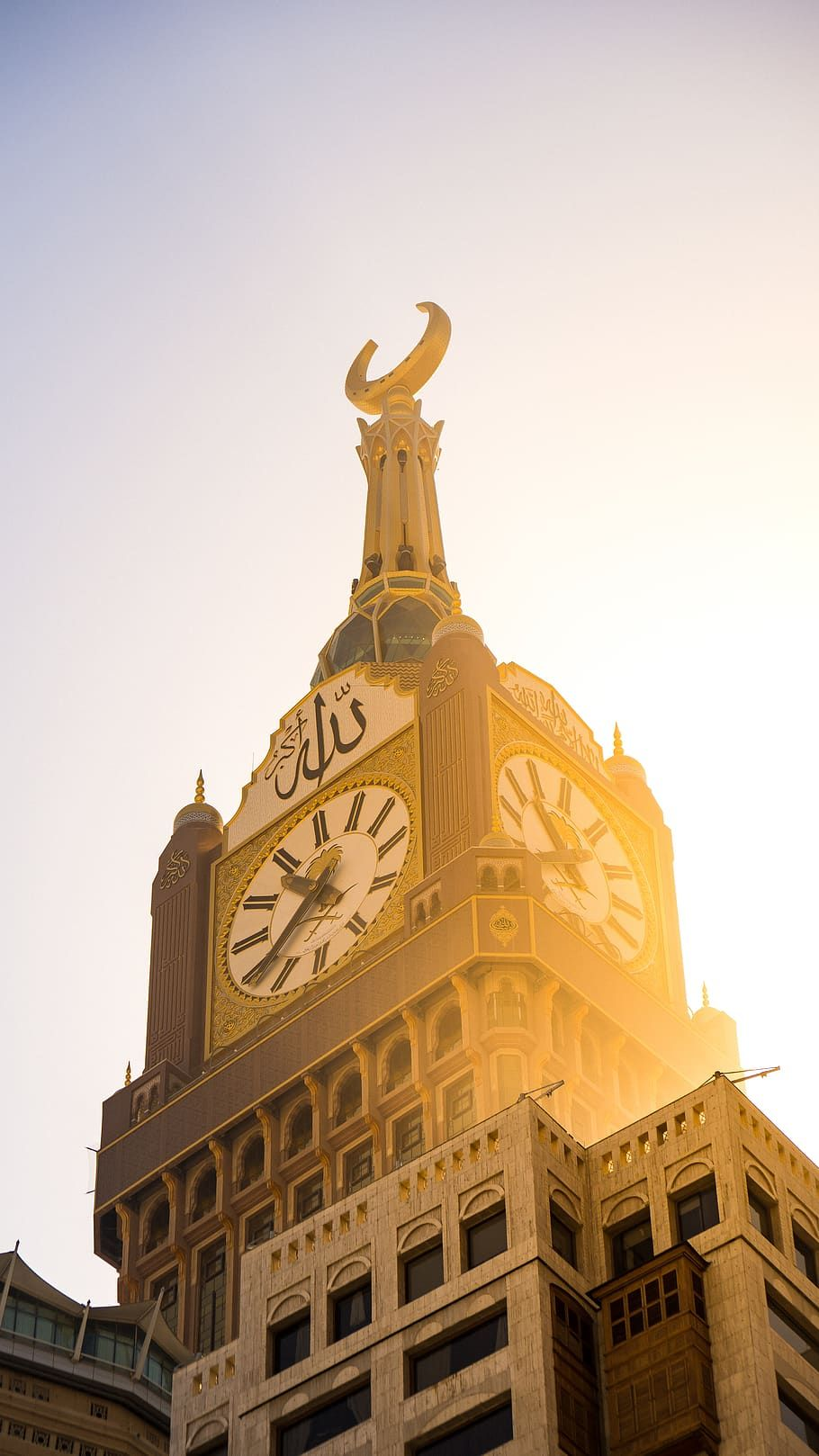 saudi arabia, مكة, makkah royal clock tower, wallpaper