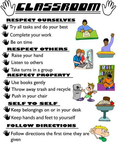 classroom expectations - Google Search 2nd Grade Expectations