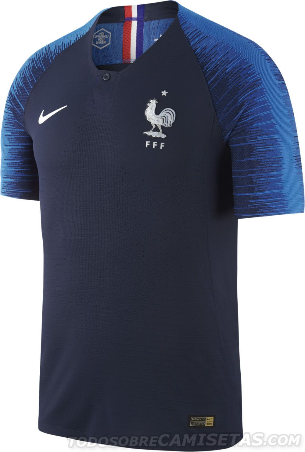 09d94374a9 France 2018 World Cup Nike Kits