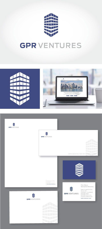Identity And Web Design For Gpr Ventures Branding Branding Inspiration Web Design