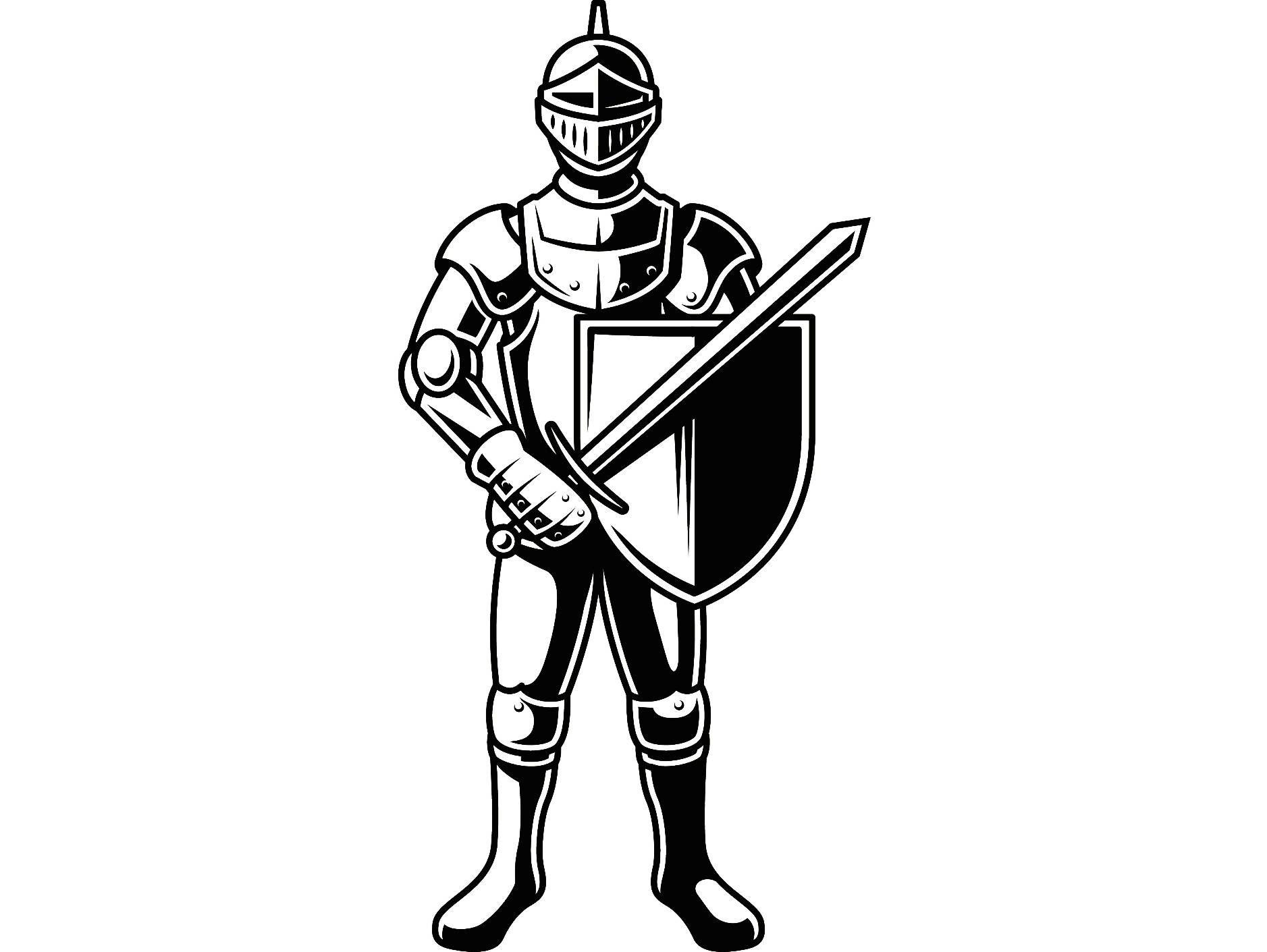 trojan sword clipart outline - HD1877×1411