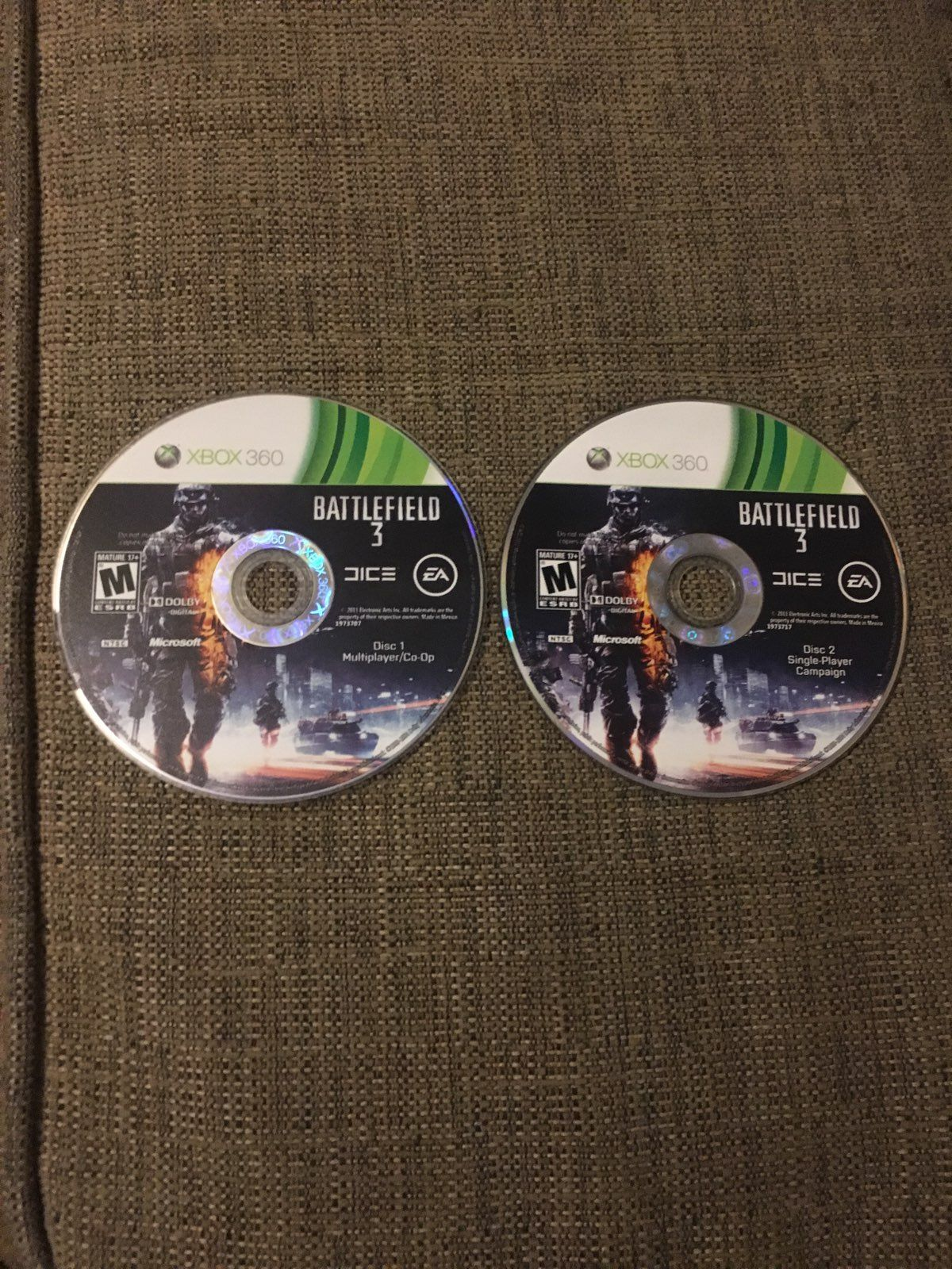 Multiplayer And Single Player Campaign Cds Both Are Perfect Just