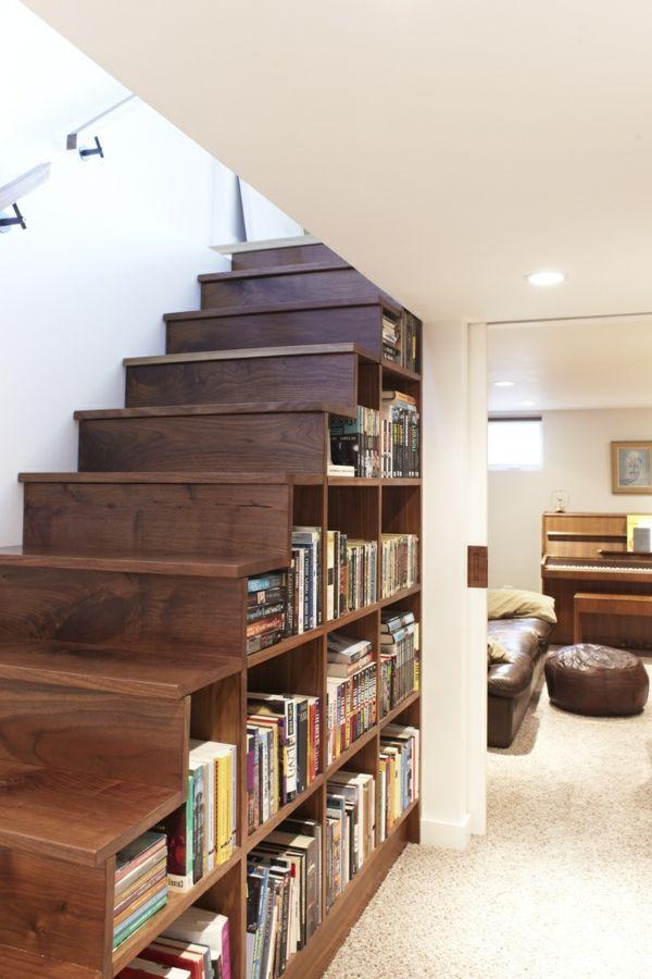 Moderne Treppen Ideen.Moderne Treppen Benutzung Der Fläche Unter Der Treppe