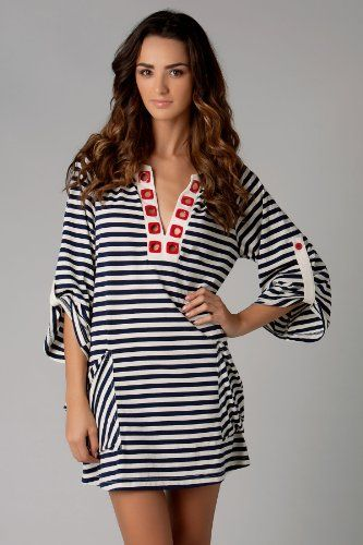 09d2ab899b Nanette Lepore Riviera Stripe Tunic #nautical | A passion for ...