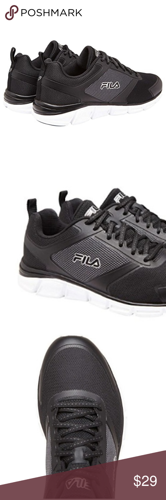 054d1e595454 Fila Men s Memory Steelsprint Athletic Shoes Move and flex freely with  these men s FILA Memory Steelsprint