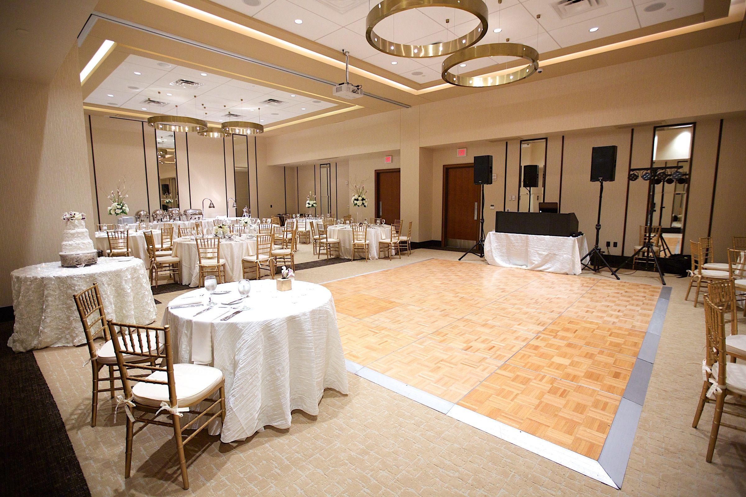 Wedding dance floor at the Hilton Garden Inn Virginia Beach ...
