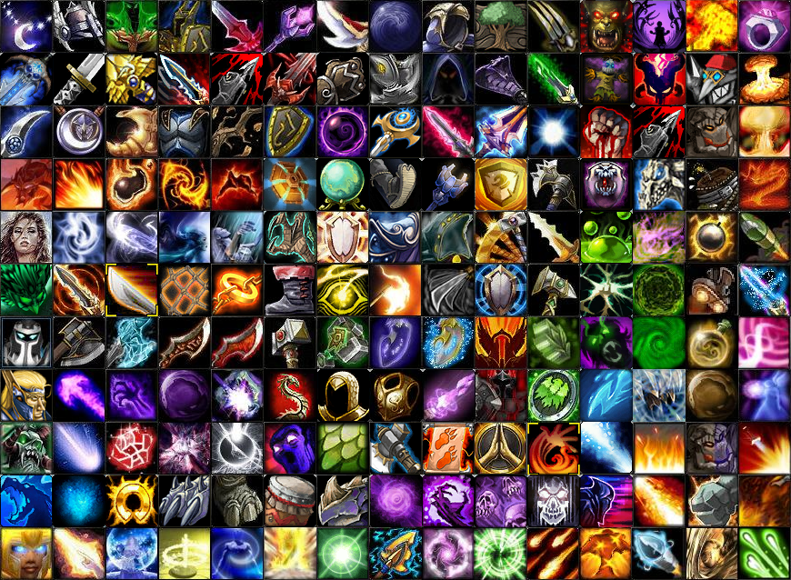 dota proposed items and heroes by daesk | Isometric