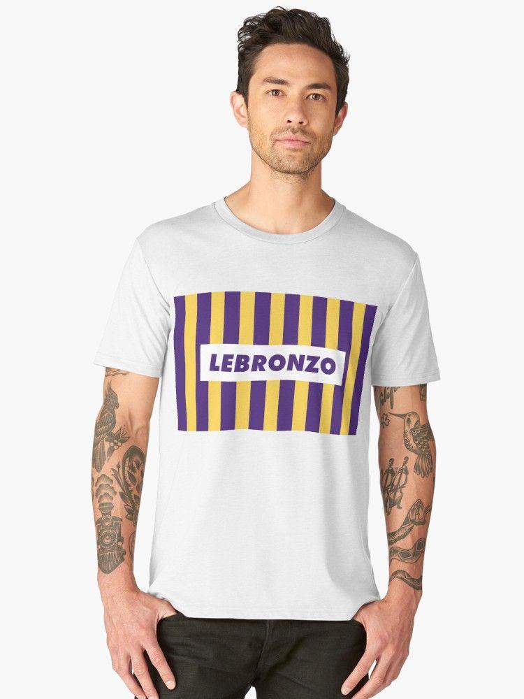 854062518b9c Buy  Lebronzo Lebron James Lonzo Ball Lakers Shirt  by embedshop as a T- Shirt