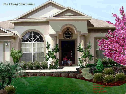 Asian landscape design in carrollwood by tampa landscape for Landscape design tampa