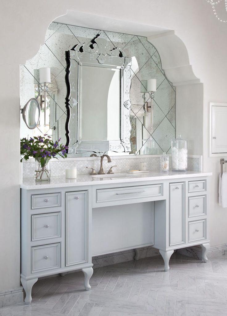 Charmant Venetian Mirror Via Heather Scott Design