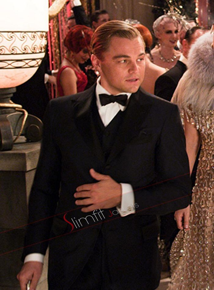Leonardo Dicaprio The Great Gatsby Black Suit | Gatsby ...