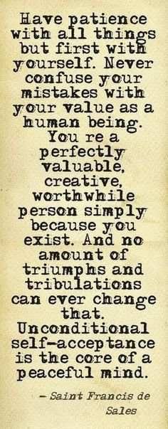 You are valuable.