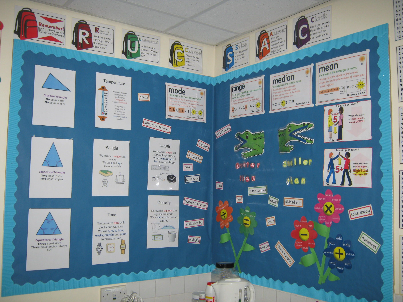 Year 6 maths display | Education | Pinterest | Maths display, Maths ...