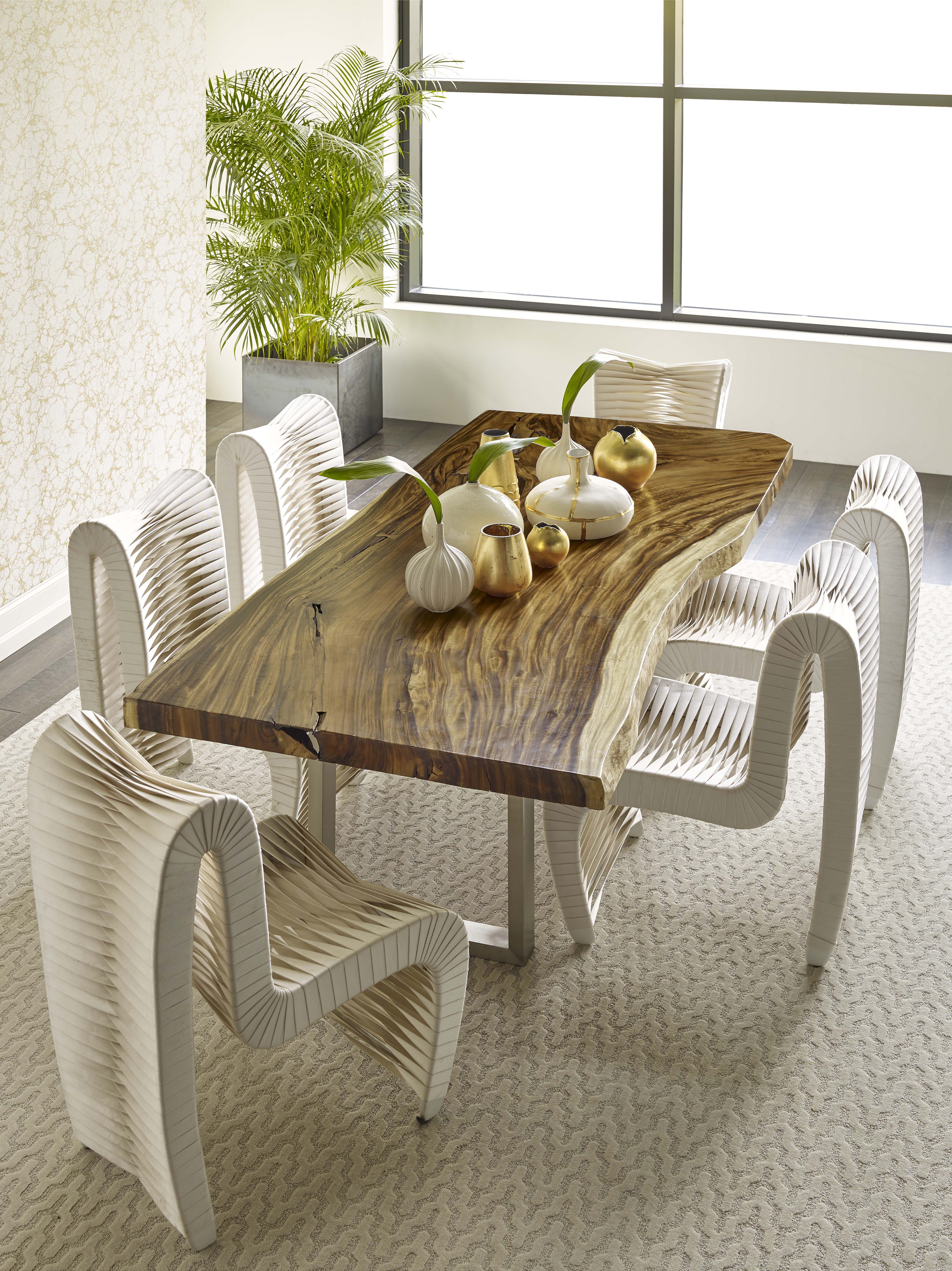 Origins Natural Chamcha Dining Table Wood