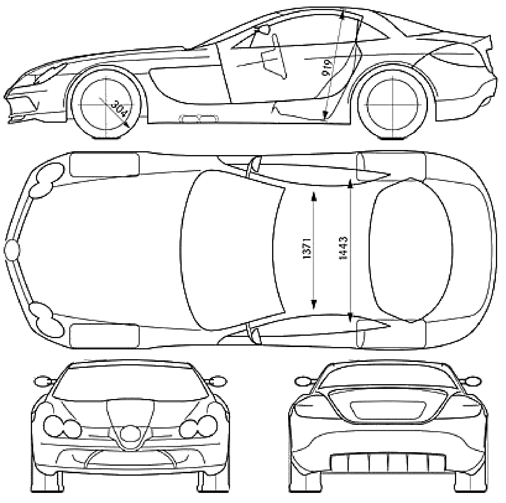 Pin on Drawings of Mercedes-Benz