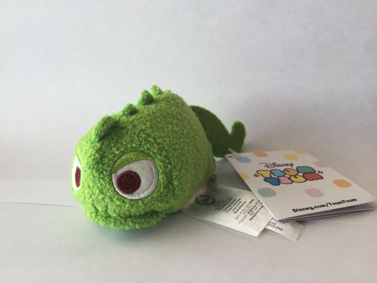 disney usa authentic pascal from tangled tsum mini plush new with tags