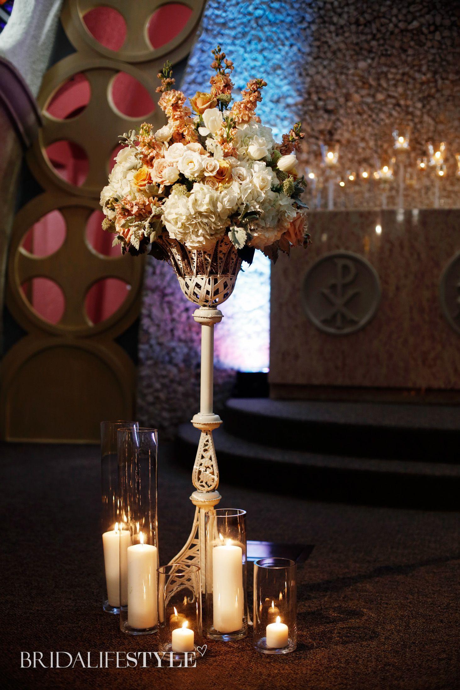 Oklahoma weddings inspiration- Nouveau Elegance - Bridalifestyle Magazine // Venue: www.Chapelonthehilltulsa.com | Photography: www.andreamurphyphotography.com | Designer: www.tulsaweddings.com | Floral: www. divinedesignsbymandy.com