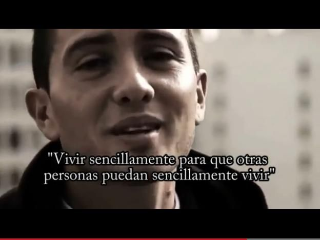 """""""Vivir sencillamente para que otras personas puedan sencillamente vivir"""" No reprimas lo que sientes, gracias @David Guerrero Valentin http://estimulando.com/video/371-vivir-para-vivir"""