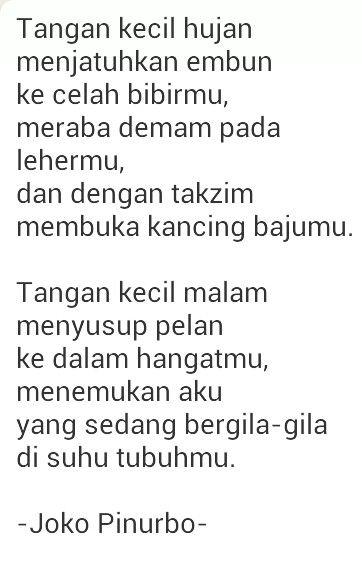 Joko Pinurbo Words Pinterest Words Poetry And Puisi Indonesia