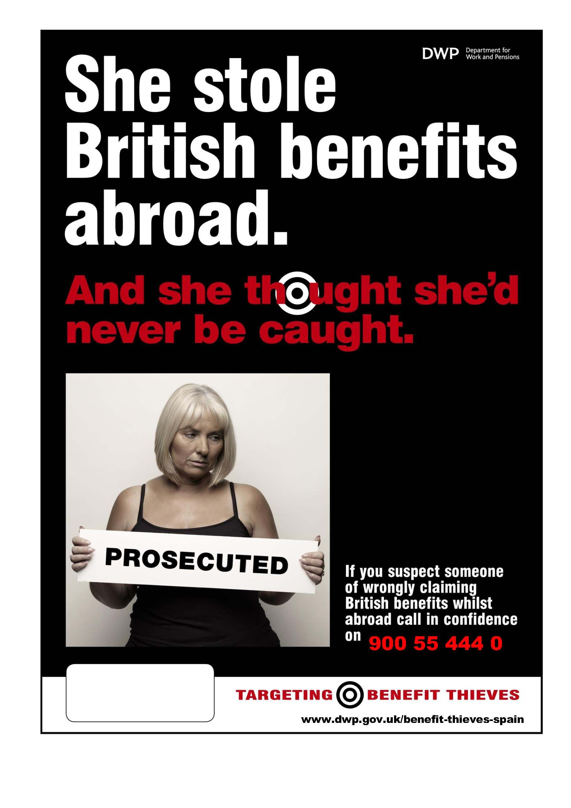 UK AND SPANISH AUTHORITIES JOIN FORCES TO SHARE INFORMATION ON UK BENEFIT FRAUDSTERS IN SPAIN