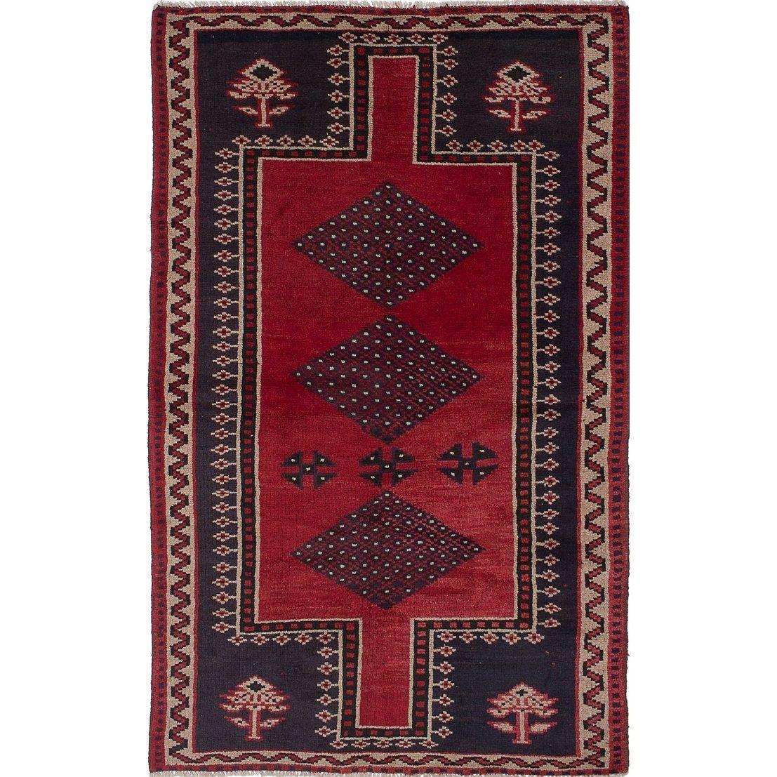 Ecarpetgallery Hand Knotted Shiraz Dark Burgundy Dark Navy Wool Rug 4 11 X 7 10 Wool Area Rugs Wool Rug Colorful Rugs