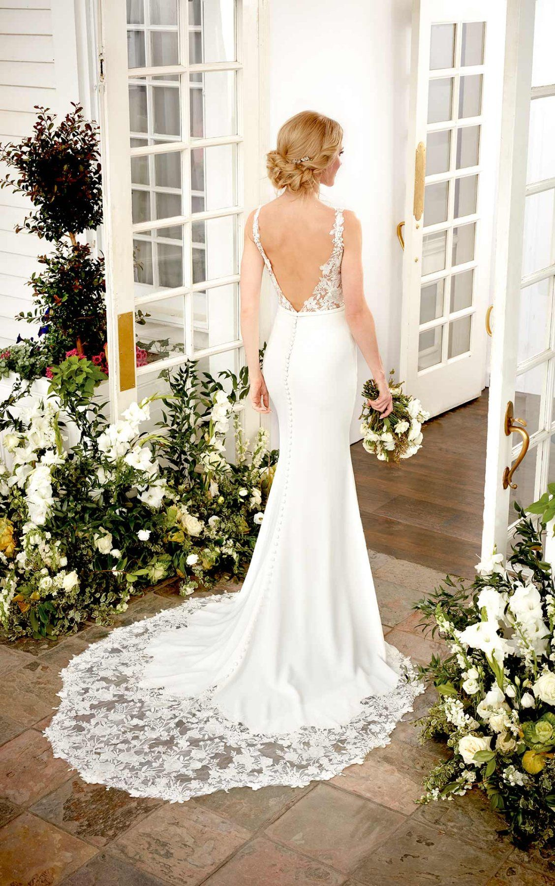 Simple Wedding Dress With Sheer Lace Sides Martina Liana Glamourous Wedding Dress Martina Liana Wedding Dress Wedding Dresses Perth [ 1799 x 1128 Pixel ]