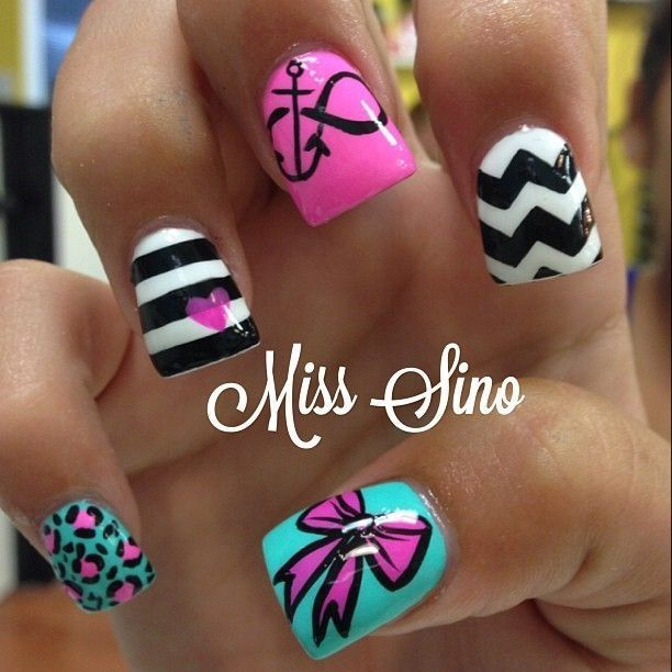 Needs something different from the anchor | Makeup, Nail nail and ...