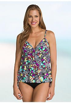 a2ffa45907bbf 24th and Ocean Painted Paisley Tiered Tankini | things i want to ...