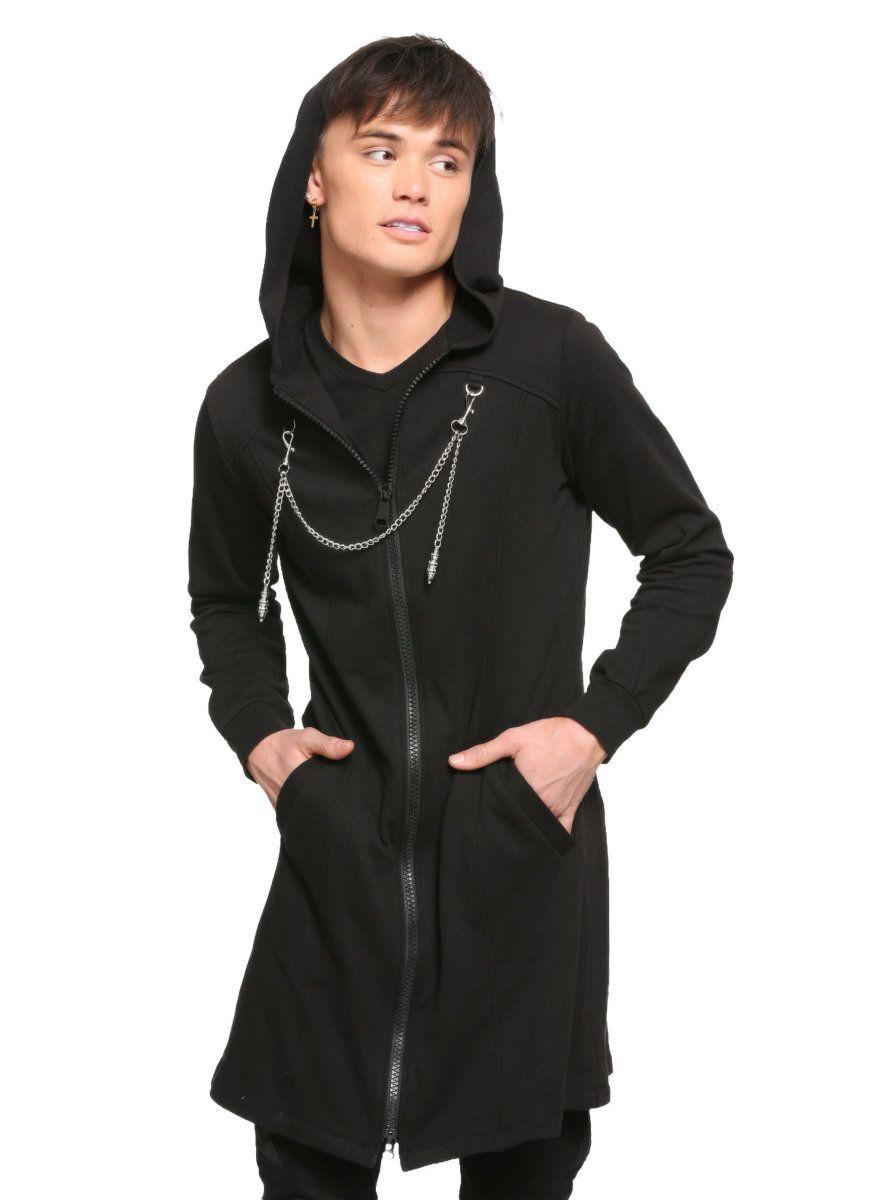 Disney Kingdom Hearts Iii Organization Xiii Hooded Duster Coat Hot Topic Exclusive Kingdom Hearts Hoodie Long Black Coat Disney Kingdom Hearts