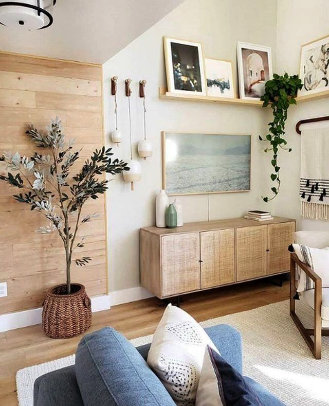 Accents Lend Warmth to a Cozy and Uplifting Living Room  Organic Accents Lend Warmth to a Cozy and Uplifting Living Room  Es ist nicht zu leugnen unser Schlafzimmer hat s...