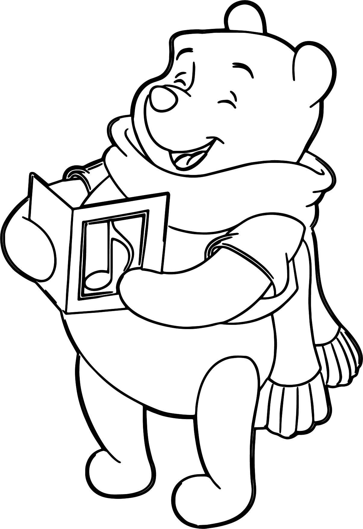 Winnie the Pooh Coloring Pages Cartoon coloring pages