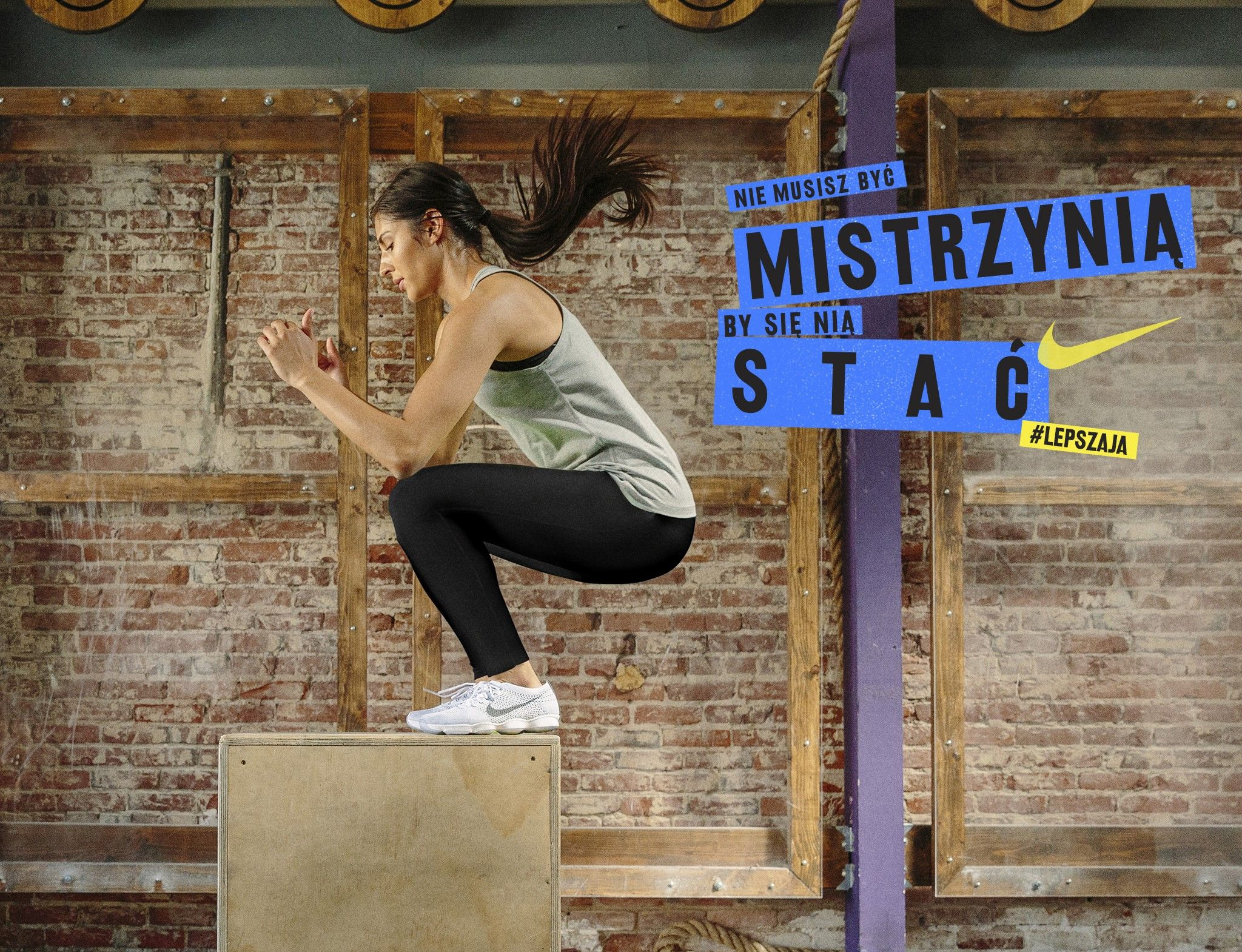 Jak zacząć trenować - motywatory Nike